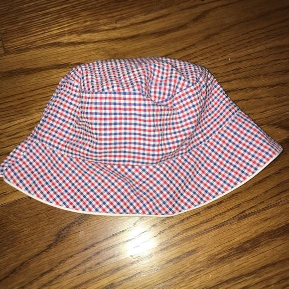 Baby Boy 3-6m Red White Blue Bucket Hat daa05c5f897